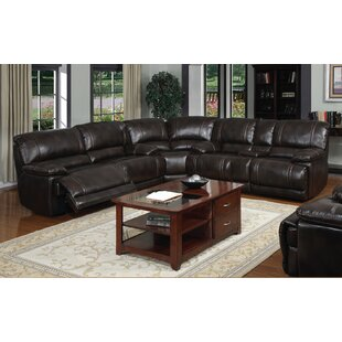 Shop Leyla Reclining Sectional by Winston Porter