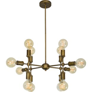 George Oliver Dever 12-Light Chandelier