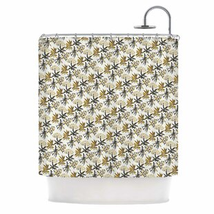 'Golden Apothecary' Single Shower Curtain