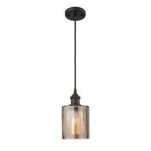 Orren Ellis Inglestone Common 1-Light Cylinder Pendant