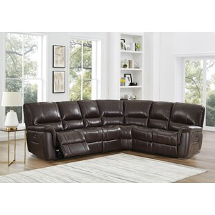 Devia Leather Reclining Sectional