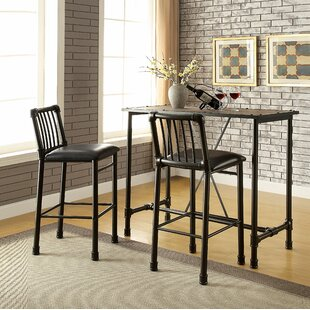 Elora 3 Piece Pub Table Set 17 Stories