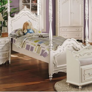 Eckenrode Four Poster Bed by Harriet Bee Wonderful