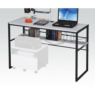 Prickett Computer Desk with File Cabinet