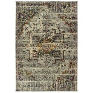 Wilhoit Casual Gray Area Rug by Bungalow Rose