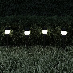 Solar Path 1 LED Pathway Light (Set of 4)