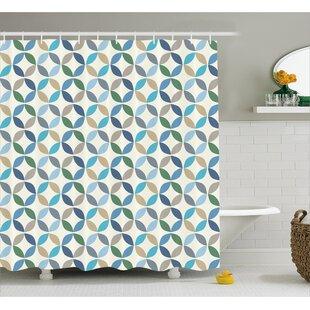 Fairlee Stripes Decor Single Shower Curtain