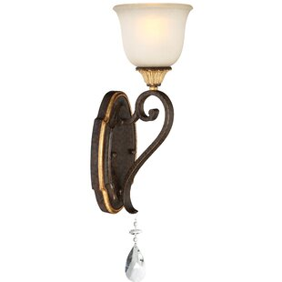 Chateau Nobles 1-Light Bath Sconce by Metropolitan by Minka