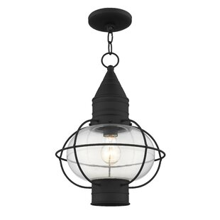 Best Reviews Wildwood Outdoor 1-Light Lantern Head By Breakwater Bay