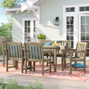 Manchester 7 Piece Dining Set by Sol 72 Outdoor Great price