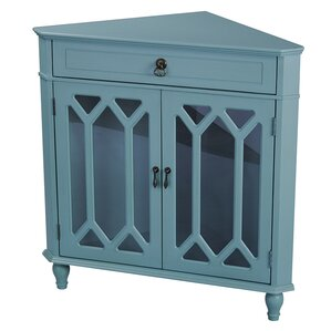 Blue Corner Cabinets & Chests You'll Love | Wayfair