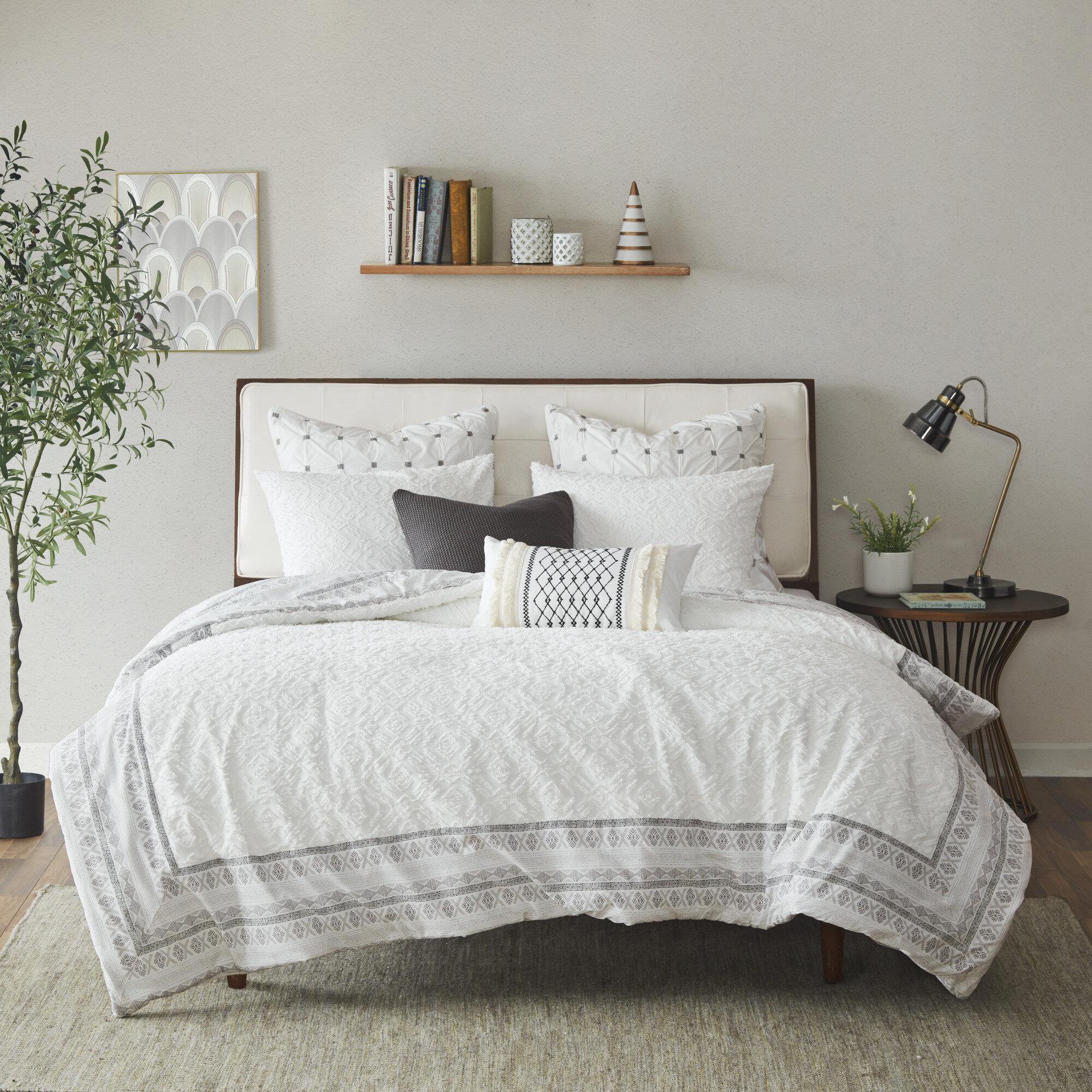 Joss Main Sinderen Reversible Comforter Set Reviews Wayfair