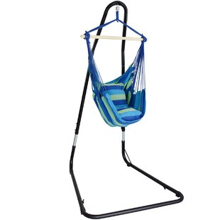 Freeport Park Gianna Adjustable Chair Hammock with Stand