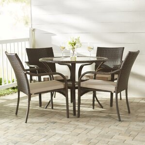 Dining Sets round patio dining sets - patio dining furniture | wayfair