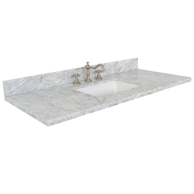 Bellaterra Home 49 Single Bathroom Vanity Top Wayfair