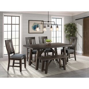 Sorrentino 6 Piece Dining Set Millwood Pines