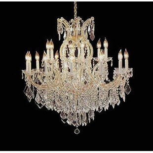 Astoria Grand Alvarado 16-Light Impress Candle Style Chandelier