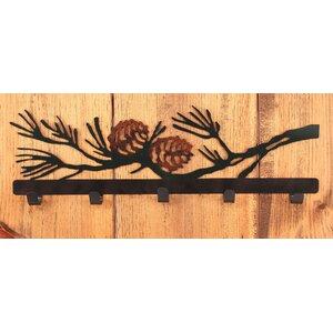Wood Dresser Painted Black