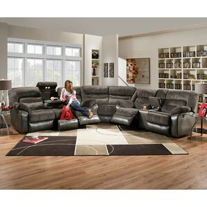 annable reclining sectional