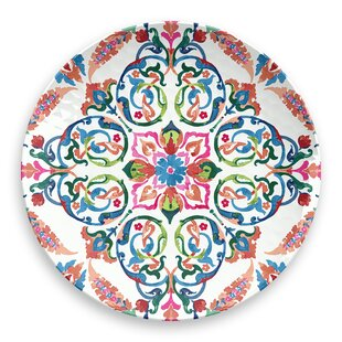 Osya Floral Melamine Salad Plate (Set of 6)
