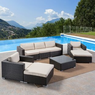 Lucrezia 8 Piece Sectional Set with Cushions