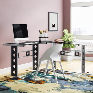 Latitude Run Burch L-Shape Desk