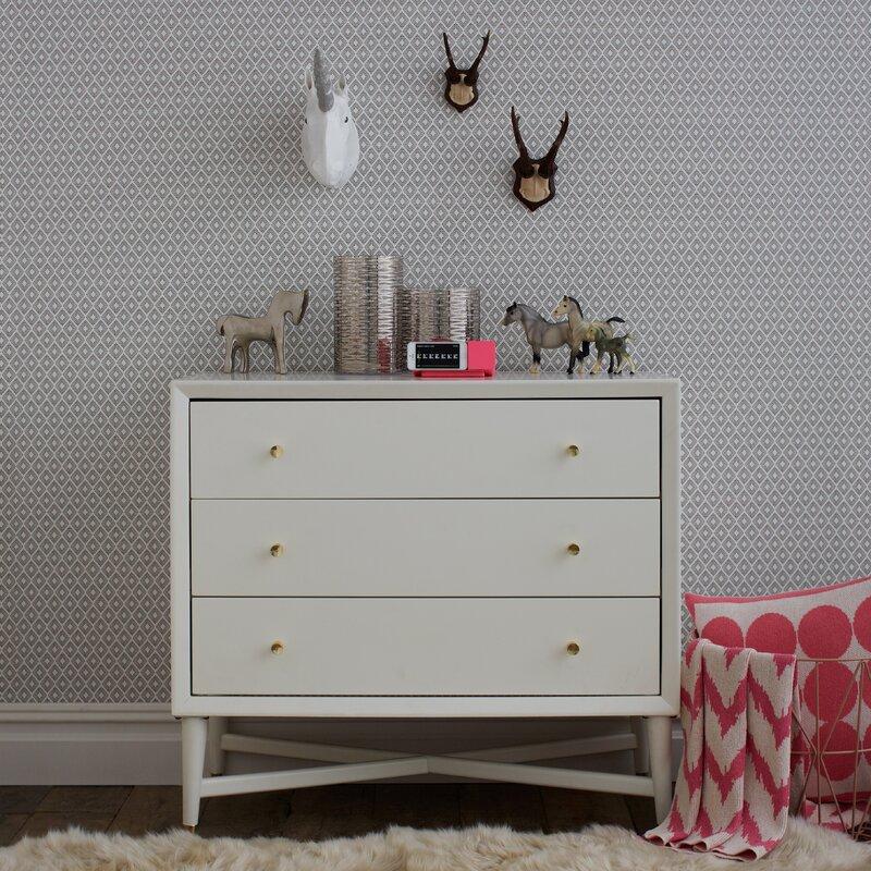 white metallic dresser karis drawer double keyword wayfair gray and