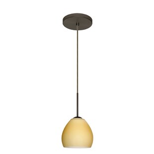 Besa Lighting Bolla 1-Light Cone Pendant