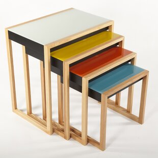 The Bayer 4 Piece Nesting Table Set