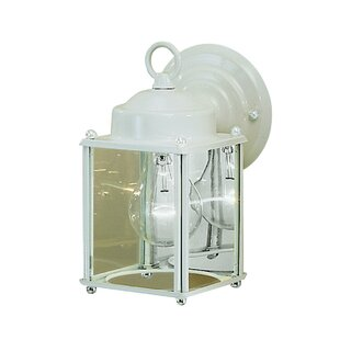 Bargain Caroline 1-Light Outdoor Wall Lantern By Astoria Grand