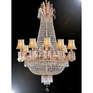 House of Hampton Montana 15-Light Empire Chandelier