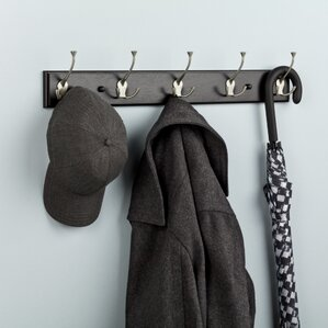 Wall Cloth Hanger wall mounted coat racks & hooks you'll love | wayfair