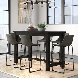 Bamey 7 Piece Pub Table Set by..