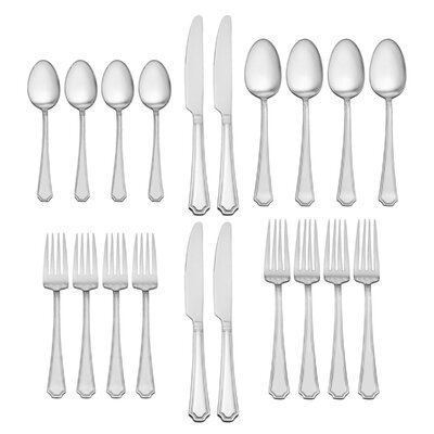 4 Person Solid Flatware Sets You Ll Love In 2019 Wayfair