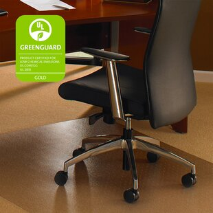 Cleartex Ultimat Hard Floor Straight Edge Chair Mat By Floortex