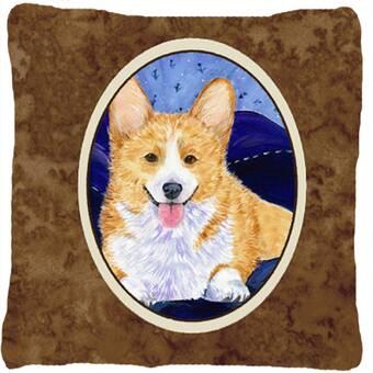 The Holiday Aisle Nazifa English Bulldog 1 Love Indoor Outdoor Patchwork Lumbar Pillow Wayfair