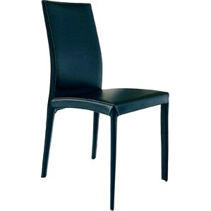 Kefir Genuine Leather Upholstered Dining Chair (Set of 2) by Bontempi Casa