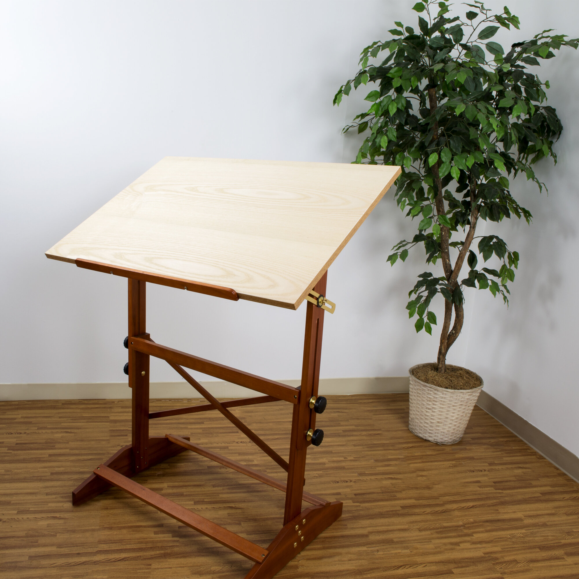 vanguard wood drafting desk hopper onsingularity alvin tables furniture s used x table com
