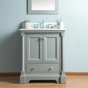 Compare prices Rayleigh 30 Single Bathroom Vanity Set ByCharlton Home