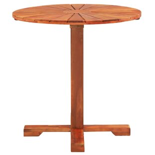 Arwood Wooden Bistro Table By Sol 72 Outdoor