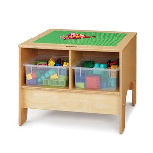 KYDZ Building Table - Lego® Compatible with Tubs by Jonti-Craft