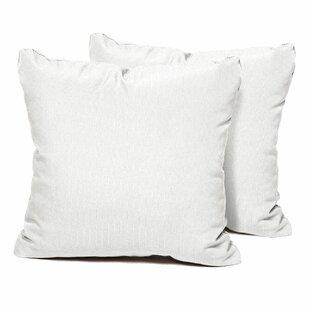modern white decorative + throw pillows | allmodern White Decorative Pillows