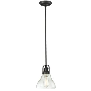 Laurel Foundry Modern Farmhouse Lindley Contemporary 1-Light Bell Pendant