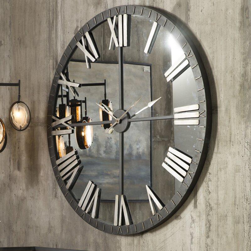 Trent Austin Design Bangor 60 Quot Large Round Wall Clock