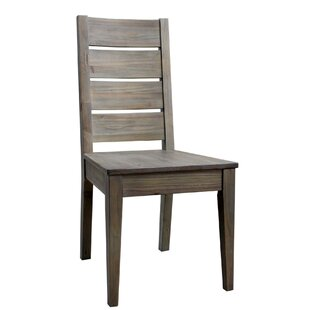 Gracie Oaks Ezechias Solid Wood Dining Chair