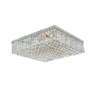 House of Hampton Langer 12-Light Flush Mount