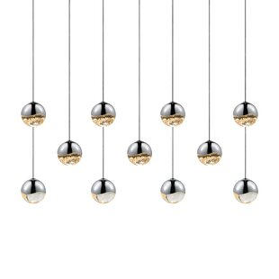 Grapes 11-Light Pendant by Sonneman
