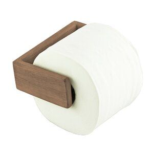 wall mounted toilet paper holder