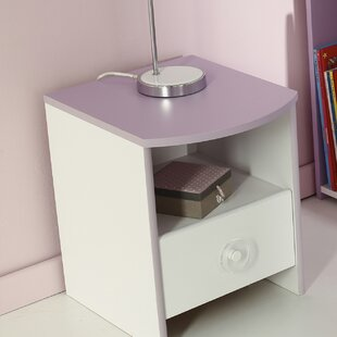 Den Helder 1 Drawer Nightstand by Zoomie Kids