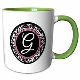 Green White Personalized Mugs Teacups You Ll Love In 2021 Wayfair